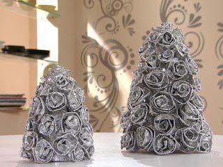 Árvore de Natal de alumínio