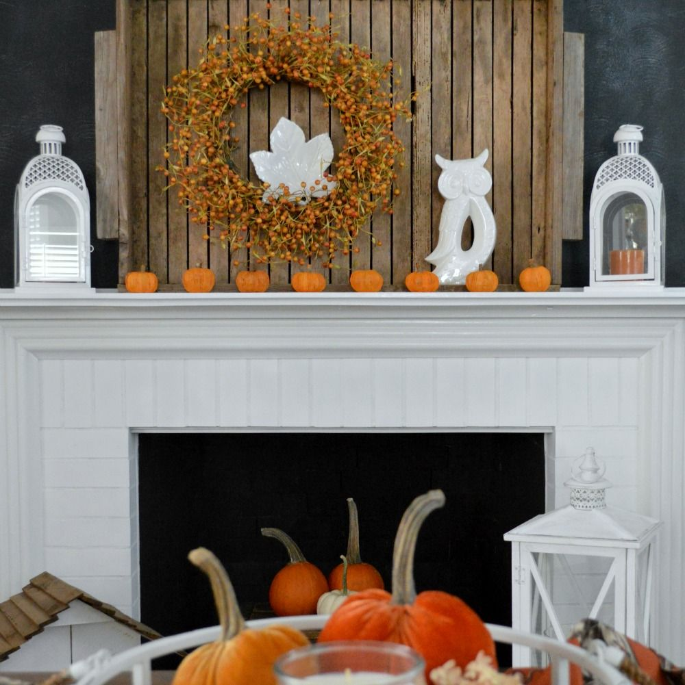 Simple fall table decorating ideas - Autumn Home Decorating Simple Fall Table