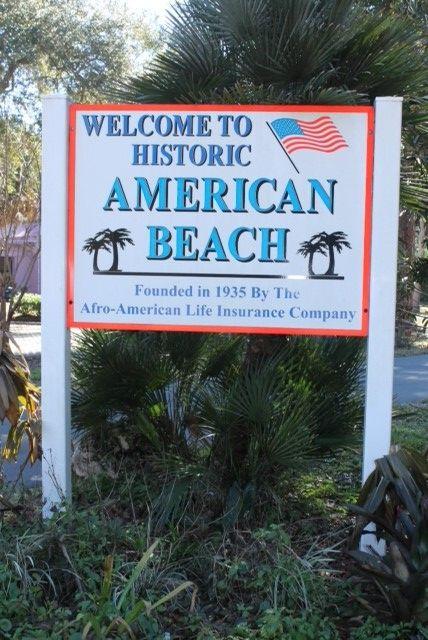 American Beach Jacksonville Florida 1936 American Beaches African American History American Life Insurance