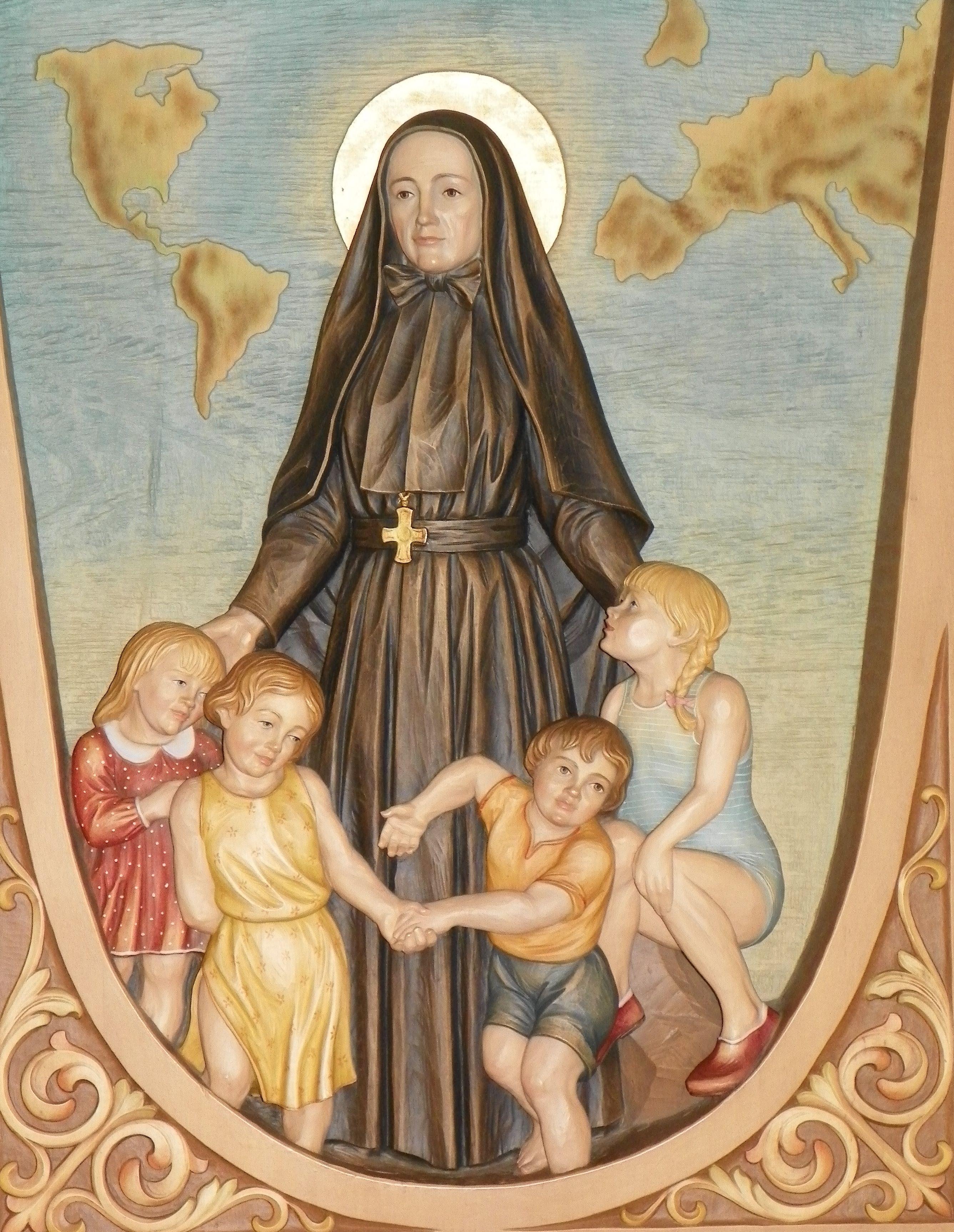 Patron saint of young girls