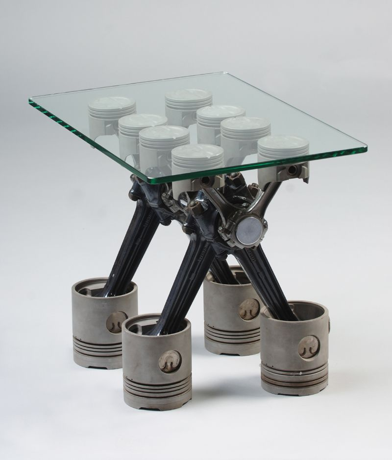 Piston Table Someday I Am Going To Do A Whole Room Like This