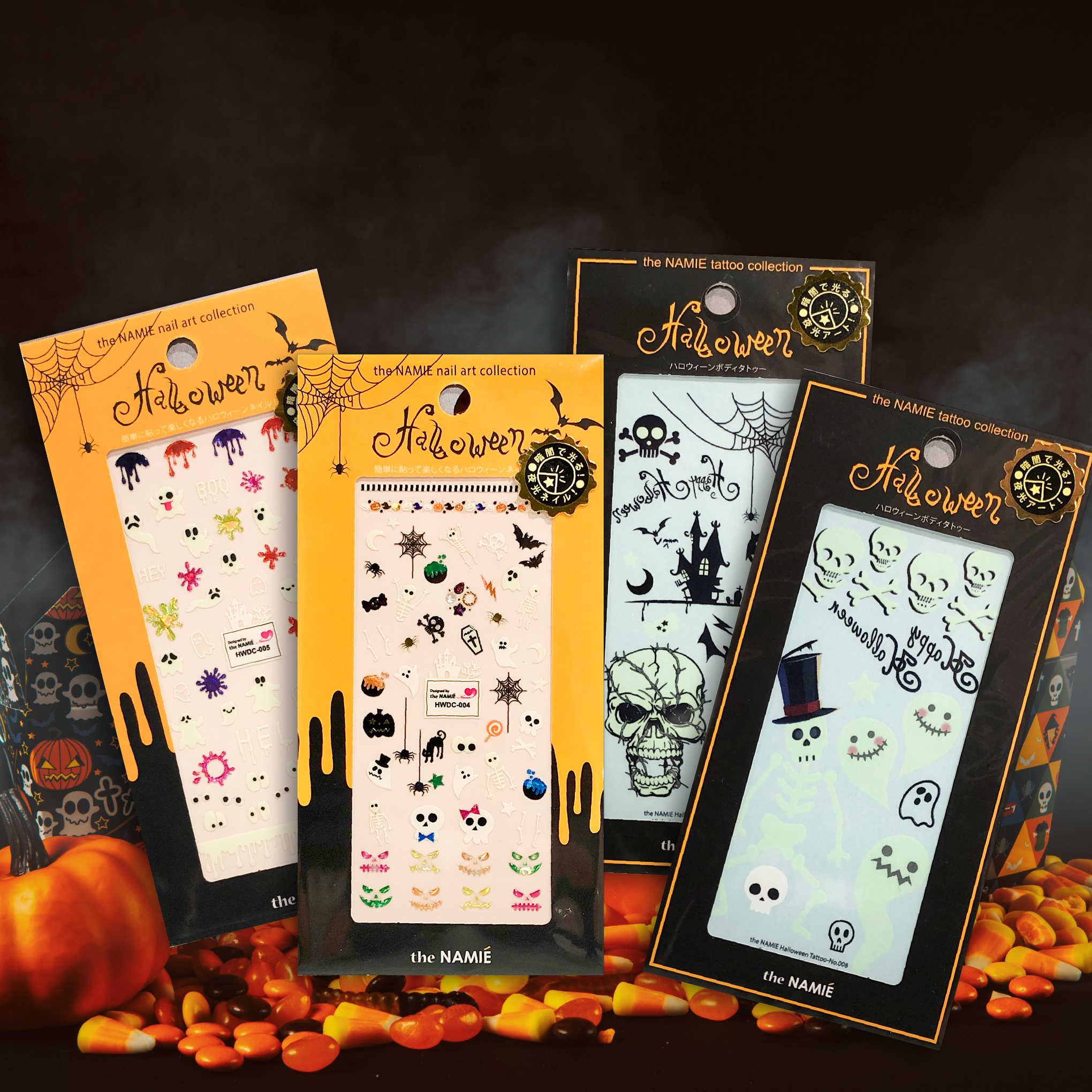 Trick or Treat! the Namie Holloween Nail stickers and body