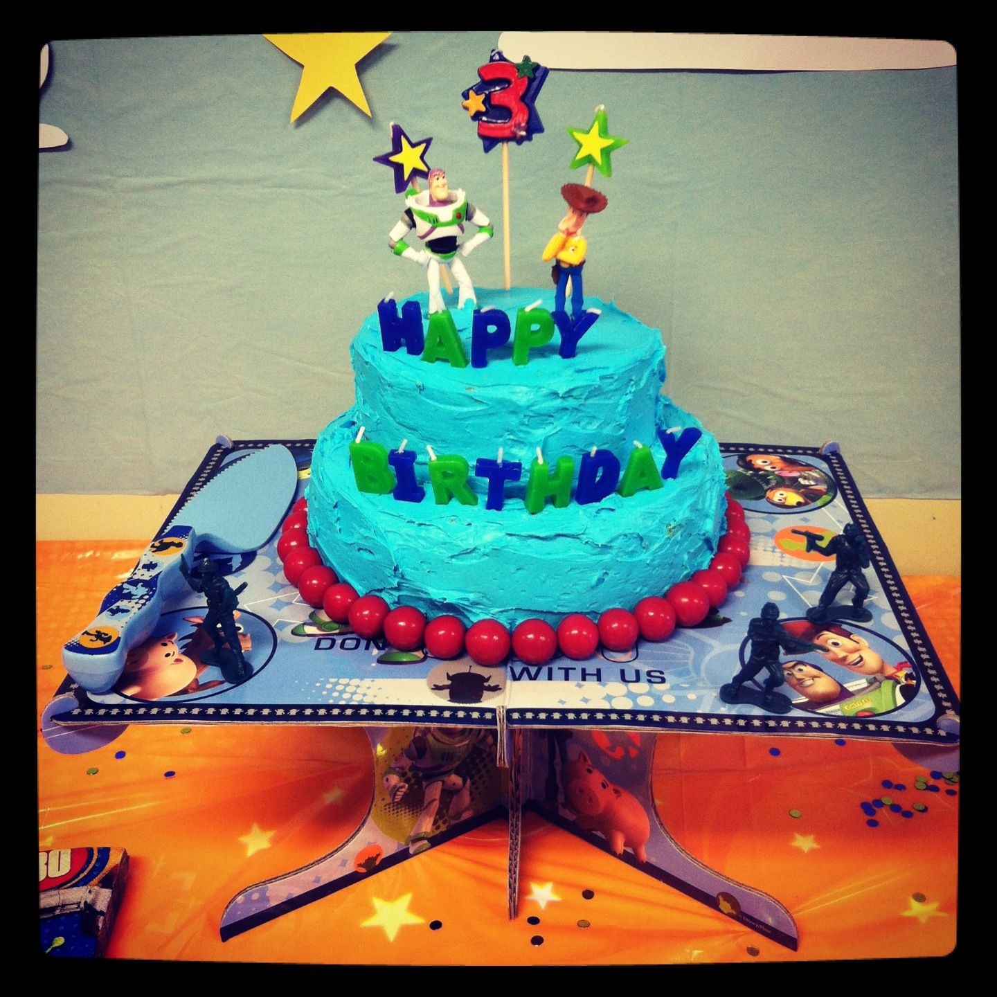 Toy Story Cake Simple And Easy Toy Story Cakes Cake Diy Easy