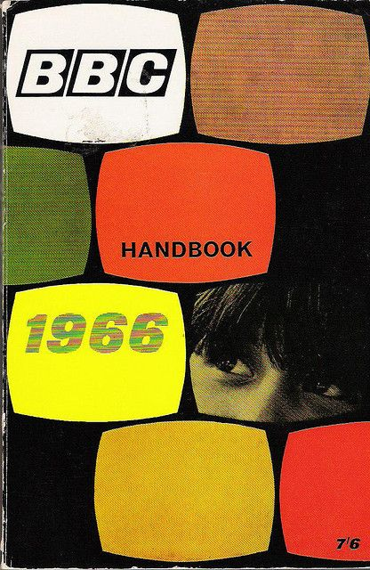 BBC Handbook, 1966. Designer unknown.