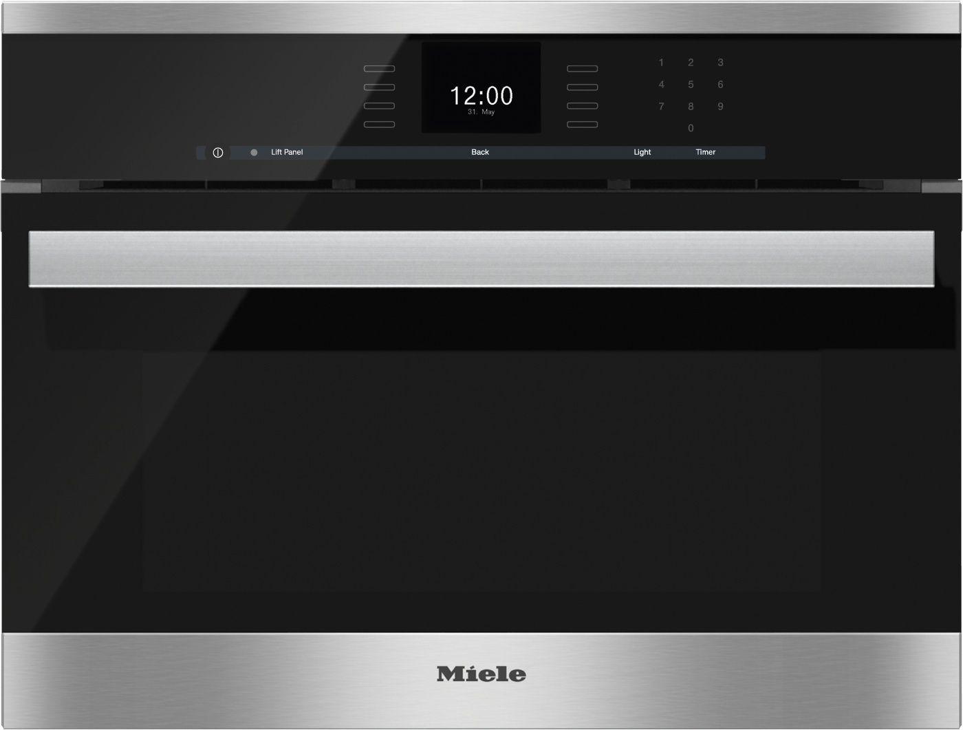 Miele 24 Dgc 6600 Xl Pureline Sensortronic Combi Steam Oven