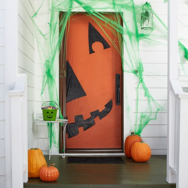 7 Halloween Door Decorating Ideas That Are Too Cute to Spook
