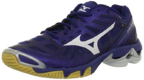Mizuno Women's Wave Lightning RX2 Volleyball Shoe,Navy/Silver,9 B ...