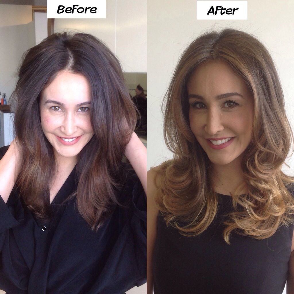 How to go lighter when you are naturally dark haired. | Hair ...
