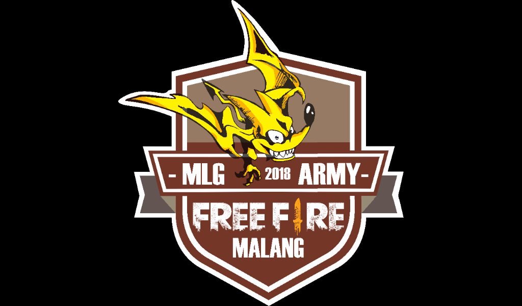 Logo free fire Malang Army army squad guild grub