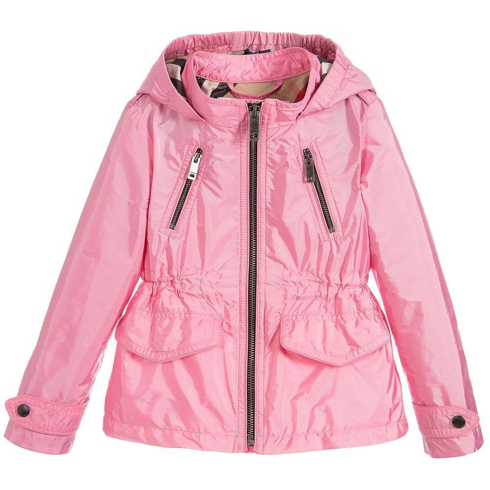 382b615457f1 Pink Hooded Halle Jacket