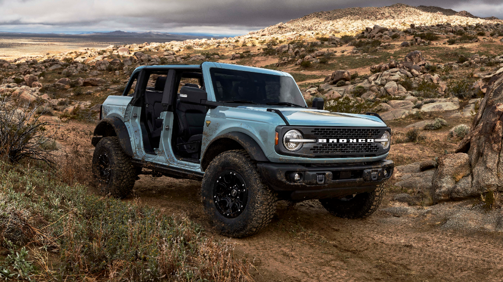 2021 Ford Bronco Revealed Specs Features Performance Off