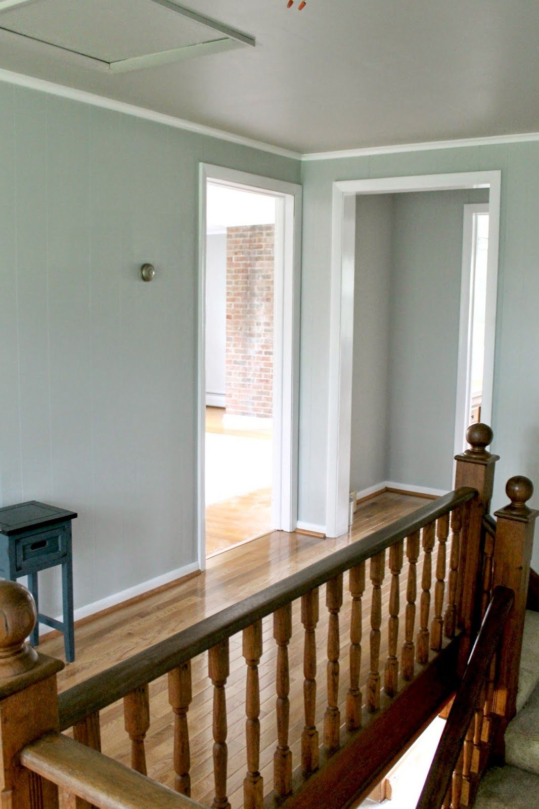 Grace lee cottage farmhouse update sherwin williams for Farmhouse paint colors interior