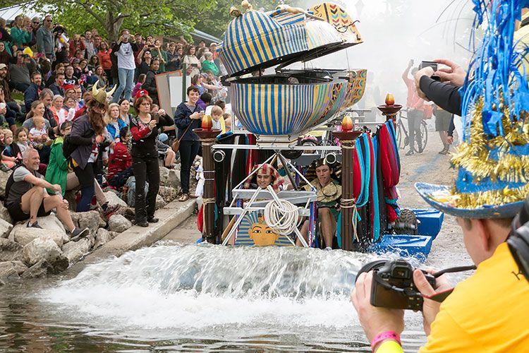 Baltimore Kinetic Sculpture Race: 2016 Race Report: King Bal-Tut-More