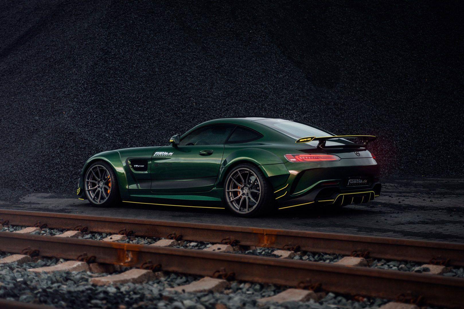 Fostla Takes The Already Powerful Mercedes Amg Gt S To Wild New