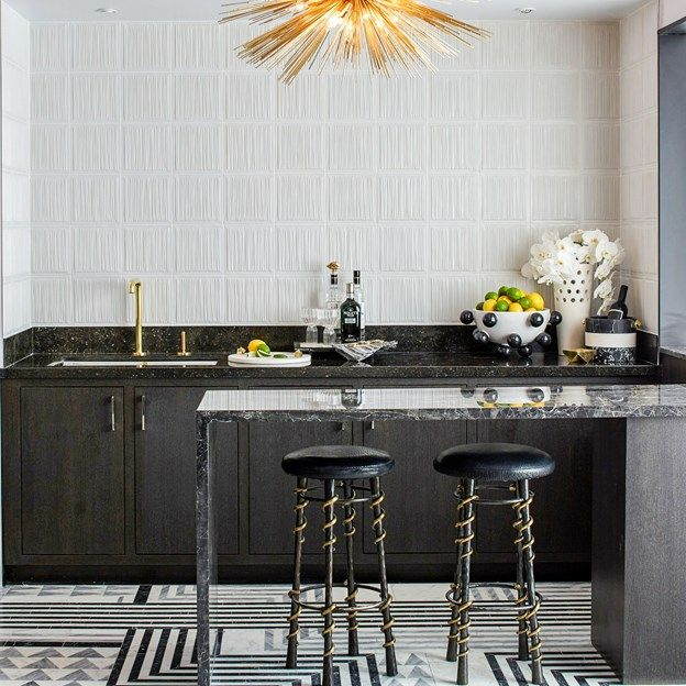 Kitchen Design Trend Keep It Costal: Very Cool Tile. Not Sure Where It Would Go But Want To