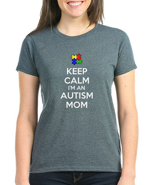Loving this Charcoal 'Autism Mom' Tee - Women on #zulily! #zulilyfinds