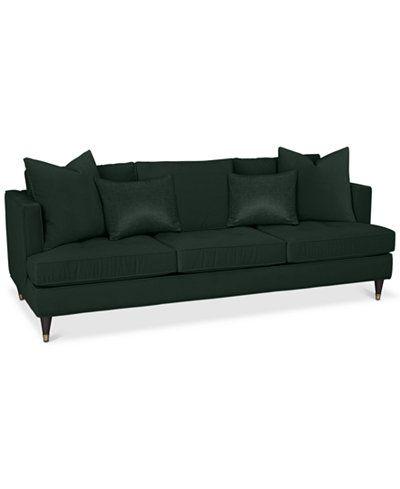 Jennova 90 Fabric Sofa Custom Colors Created For Macy S Home Sweet
