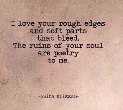 The ruins of your soul Love that line more than I can imagine ...