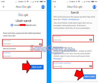 Cek trik cara mengganti Password Gmail yang lupa kata sandinya di ...