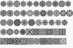 Armenian Ornament Gemalte Ornamente Geometrie Ideen