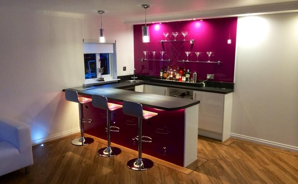A Little Bit Of Luxury A Home Bar Designed Supplied
