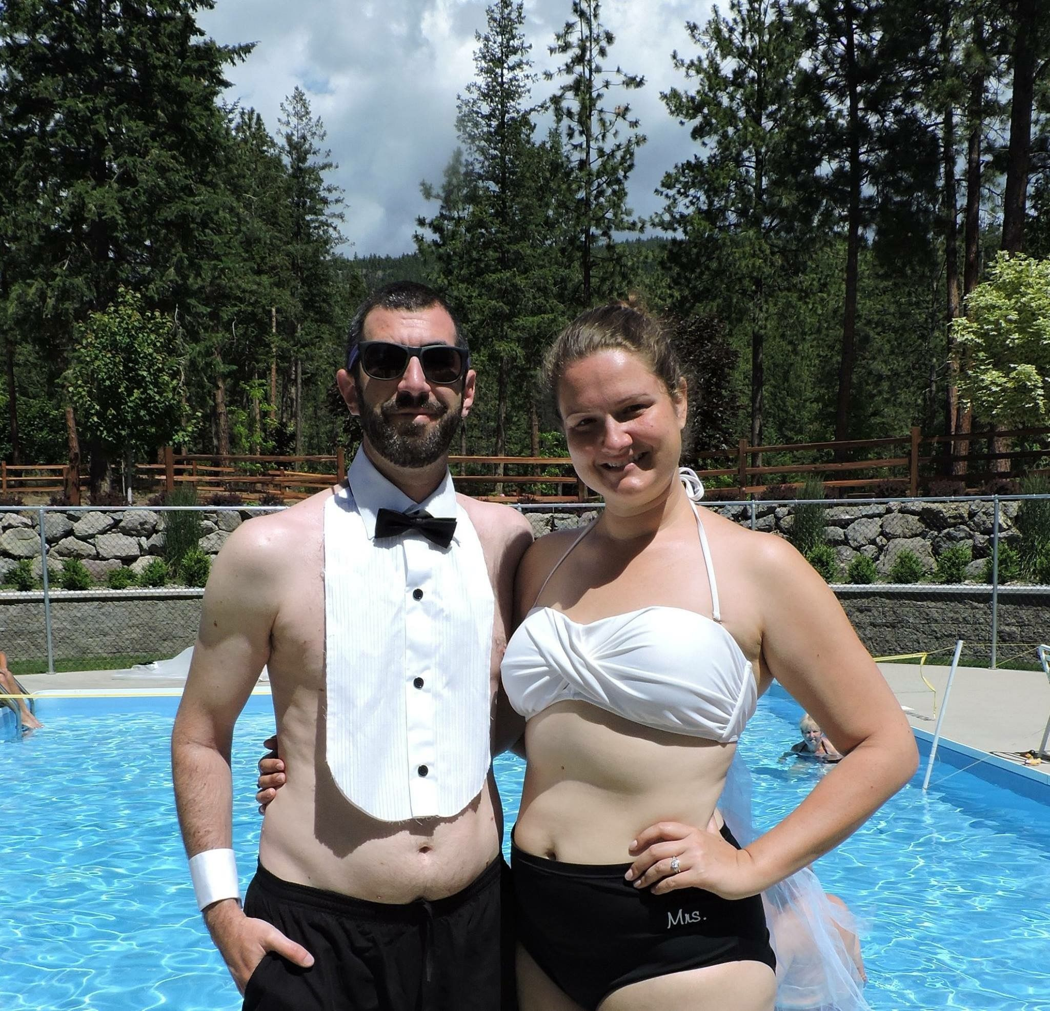 We love when our Bride & Grooms get creative with their time at ...