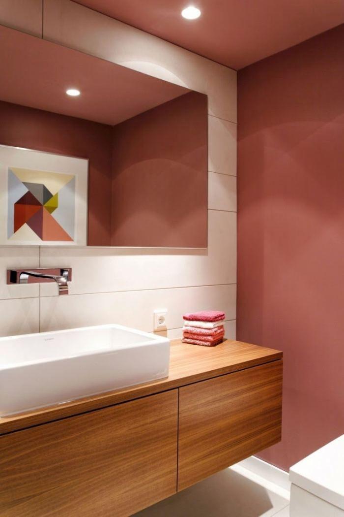 Contrastes y Estilo en el Cuarto de Baño | Muebles cuarto ...