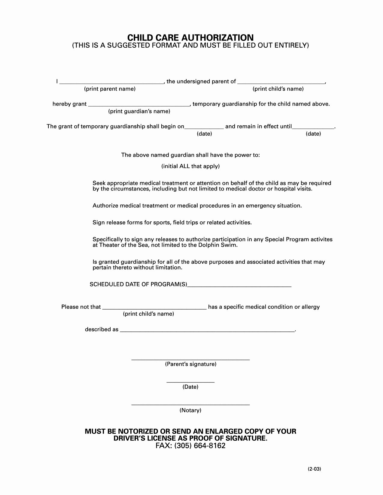 40 free temporary guardianship form warehouse manager resume objective cv format for no work experience in