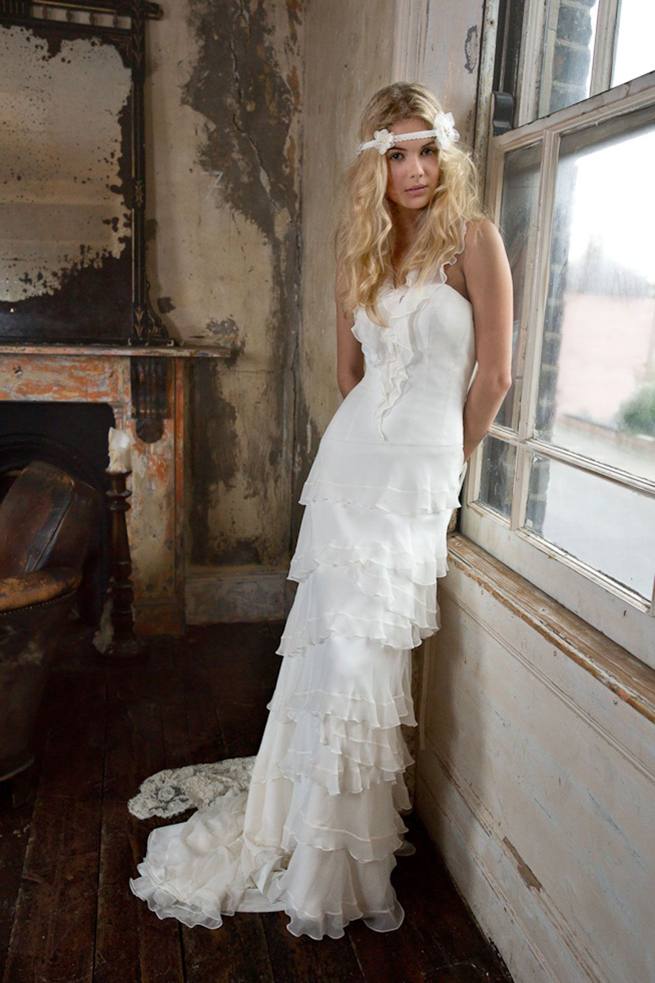 Trying on wedding dresses for the first time  Wedding Dresses  The Ultimate Gallery BridesMagazine