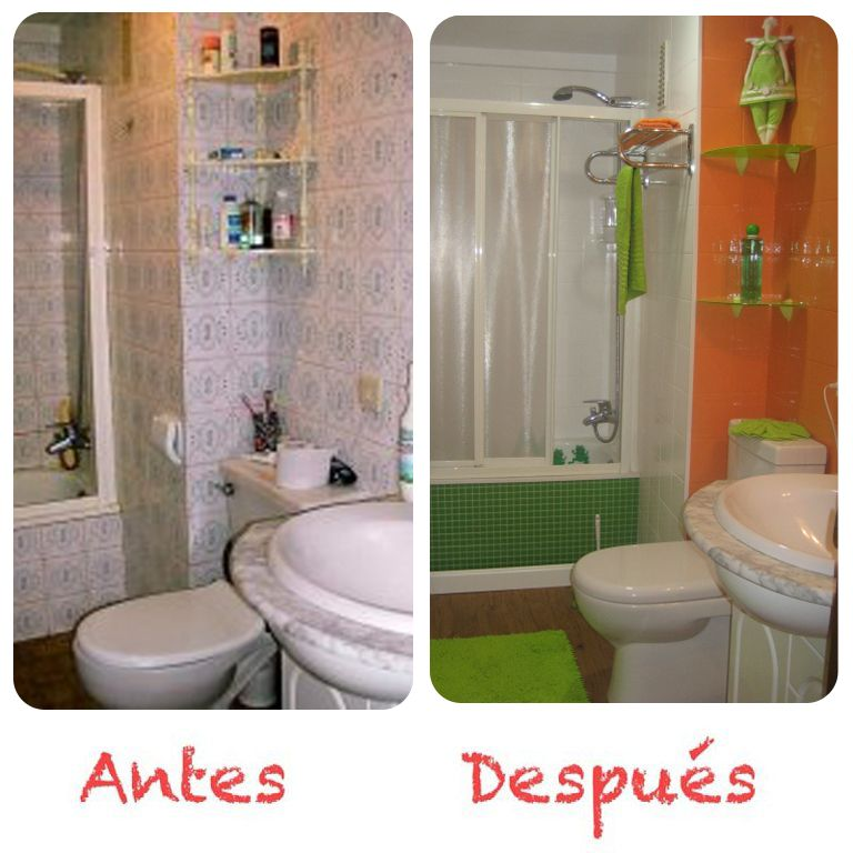 Pintura azulejos deco pinterest bath for Pintar azulejos bano ideas