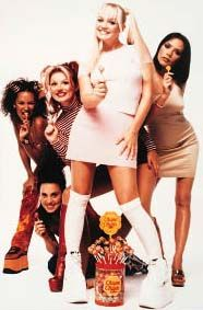 How could we forget the Spice girls collaboration with ChupaChup. #OldSchool