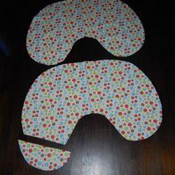 Boppy pillow pattern with Velcro instead of zipprr