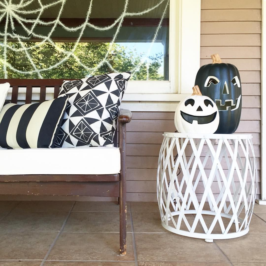 See this Instagram photo by @tomkatstudio \u2022 Black and white - black and white halloween decorations