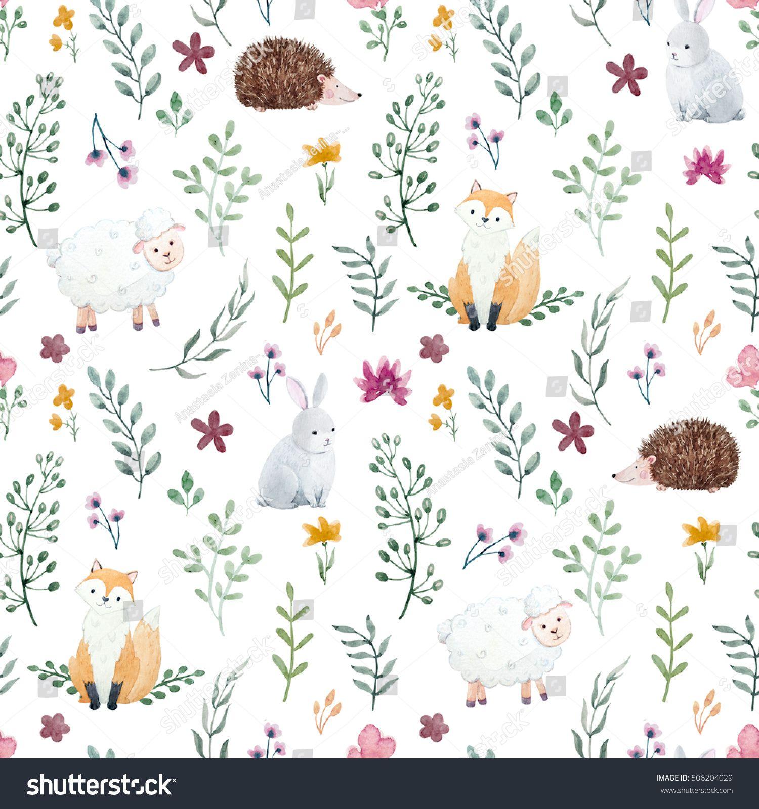 Best Watercolor Pattern For Children Children S Wallpaper With 400 x 300