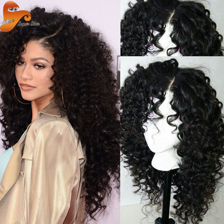 Pleasant Best Brazilian Curly Full Lace Human Hair Wigs Unprocessed Virgin Hairstyles For Men Maxibearus