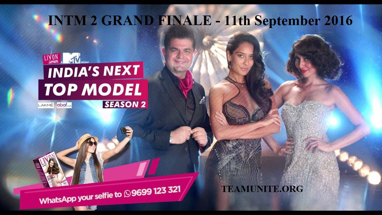 INTM India's Next Top Model Season 2 Grand Finale Winner