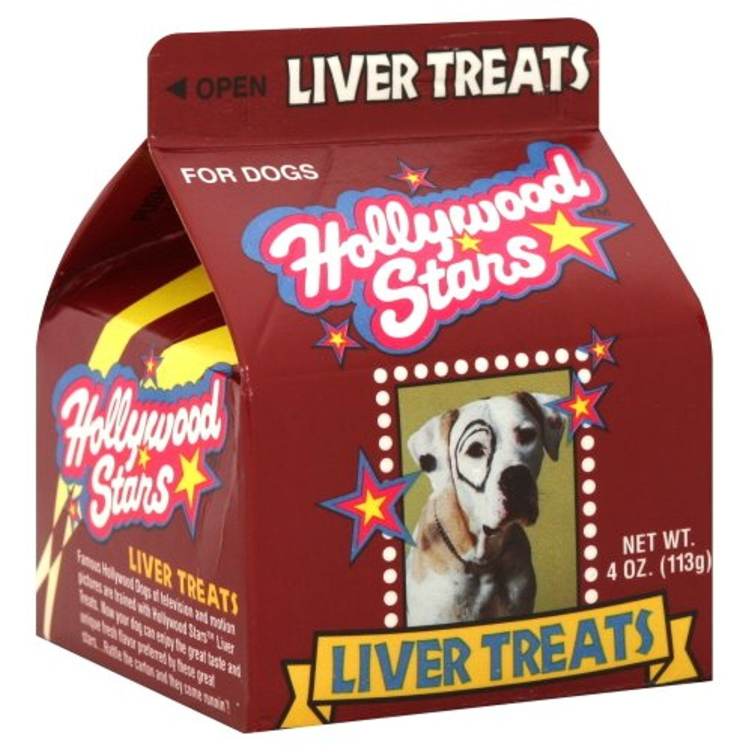 Hollywood Stars Dog Treats Liver 4 0 Oz Pack Of 6 Do You Want
