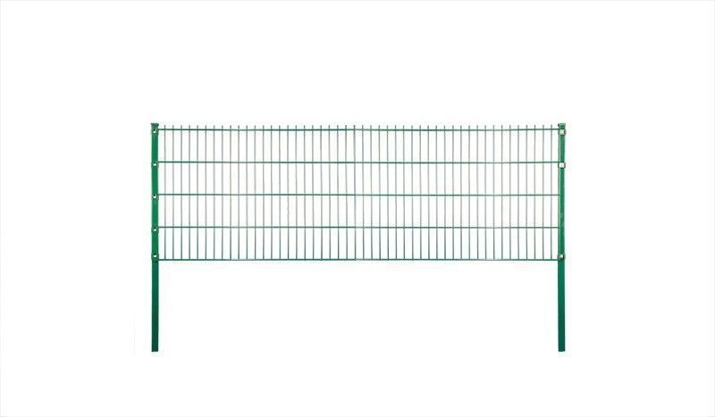 Doppelstabgittermatten Eco – Grün | Zaun metall | Pinterest | Zäune ...