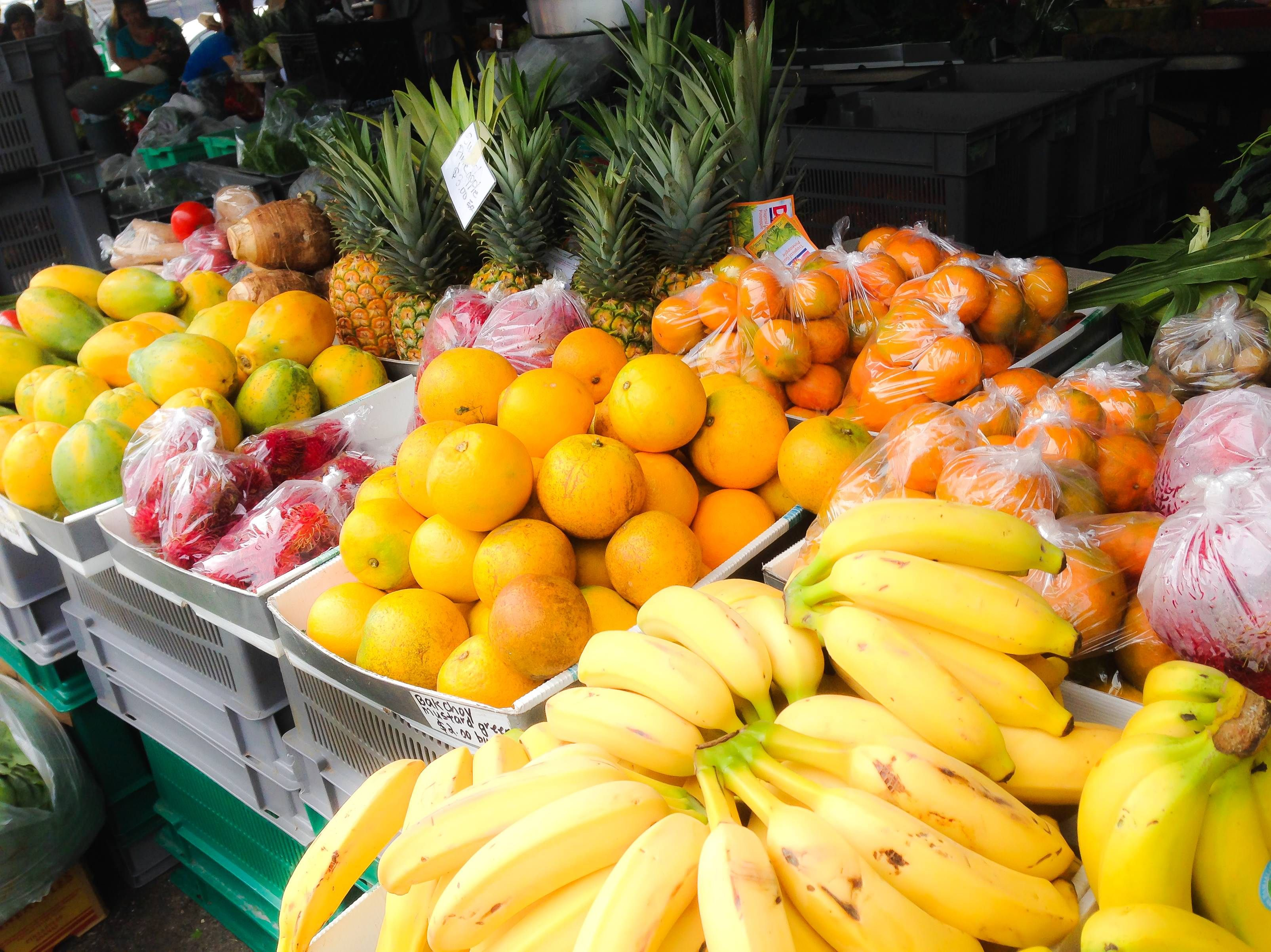 Who's Up For Some Fresh Tropical Fruit From The Hilo