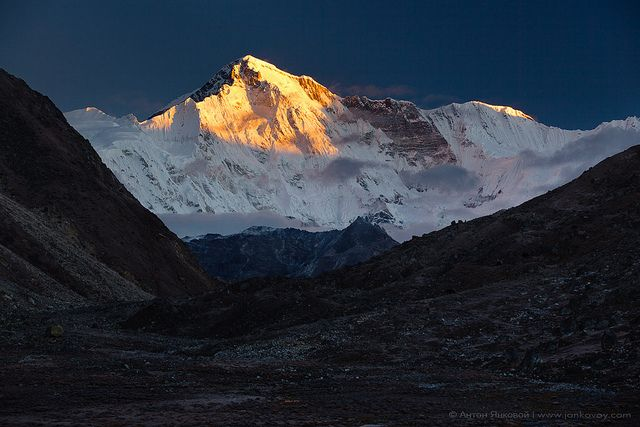 Cho Oyu (8,201 m) - The Goddess of Turquoise | Flickr - Photo Sharing! @Anton Gårdewall Gårdewall Jankovoy