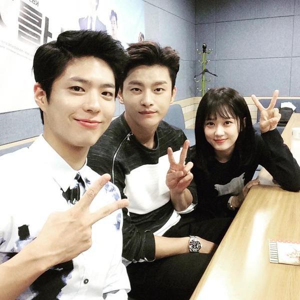 Aww Cuuuties😻😻😻 #Seo in Guk #Park Bo Gum  #Jang Na Ra #Kdrama  'Remember You'