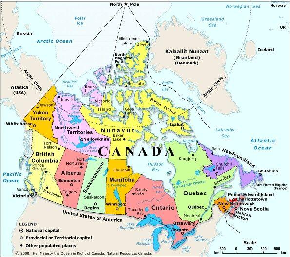 Canadas Traditions And Customs Nova Scotia - Toronto us map