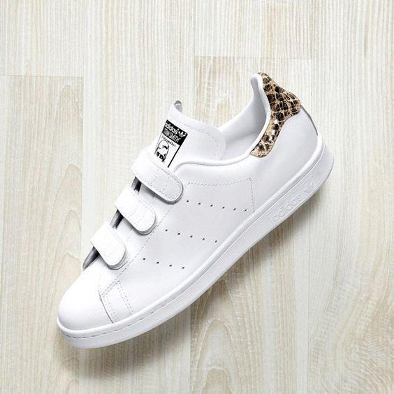 adidas Originals STAN SMITH Sneaker low weißgold orh_97523