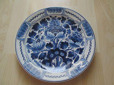 Alter Wand Teller Delft / Holland / Porceleyne Fles 24,8 cm
