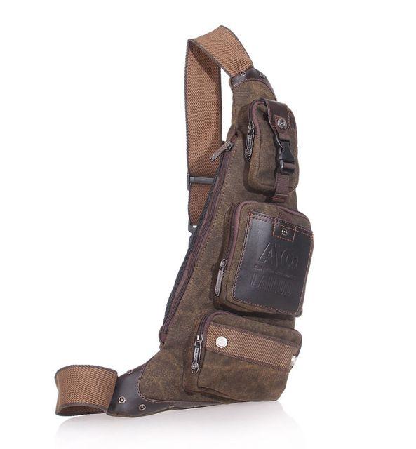 Freies verschiffen 2014 vintage brust packen casual 1680D nylon umhängetasche cross body klassische sport hüfttasche