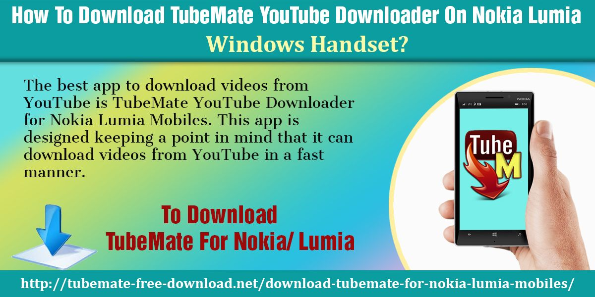 The best app to download videos from YouTube is TubeMate