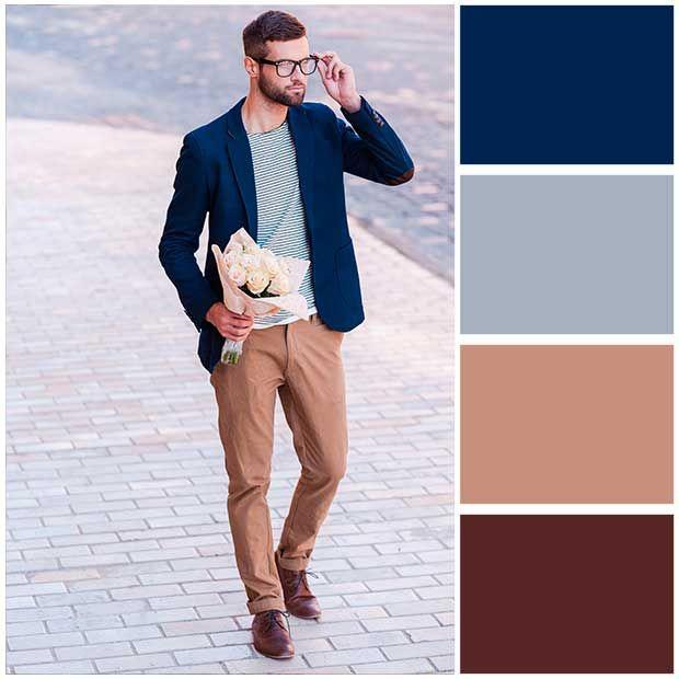 Combinacion De Colores De Ropa Para Hombres