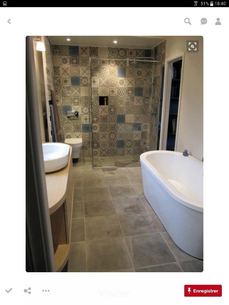 Épinglé par Wardia Haya sur Salle de bain  Idée salle de bain