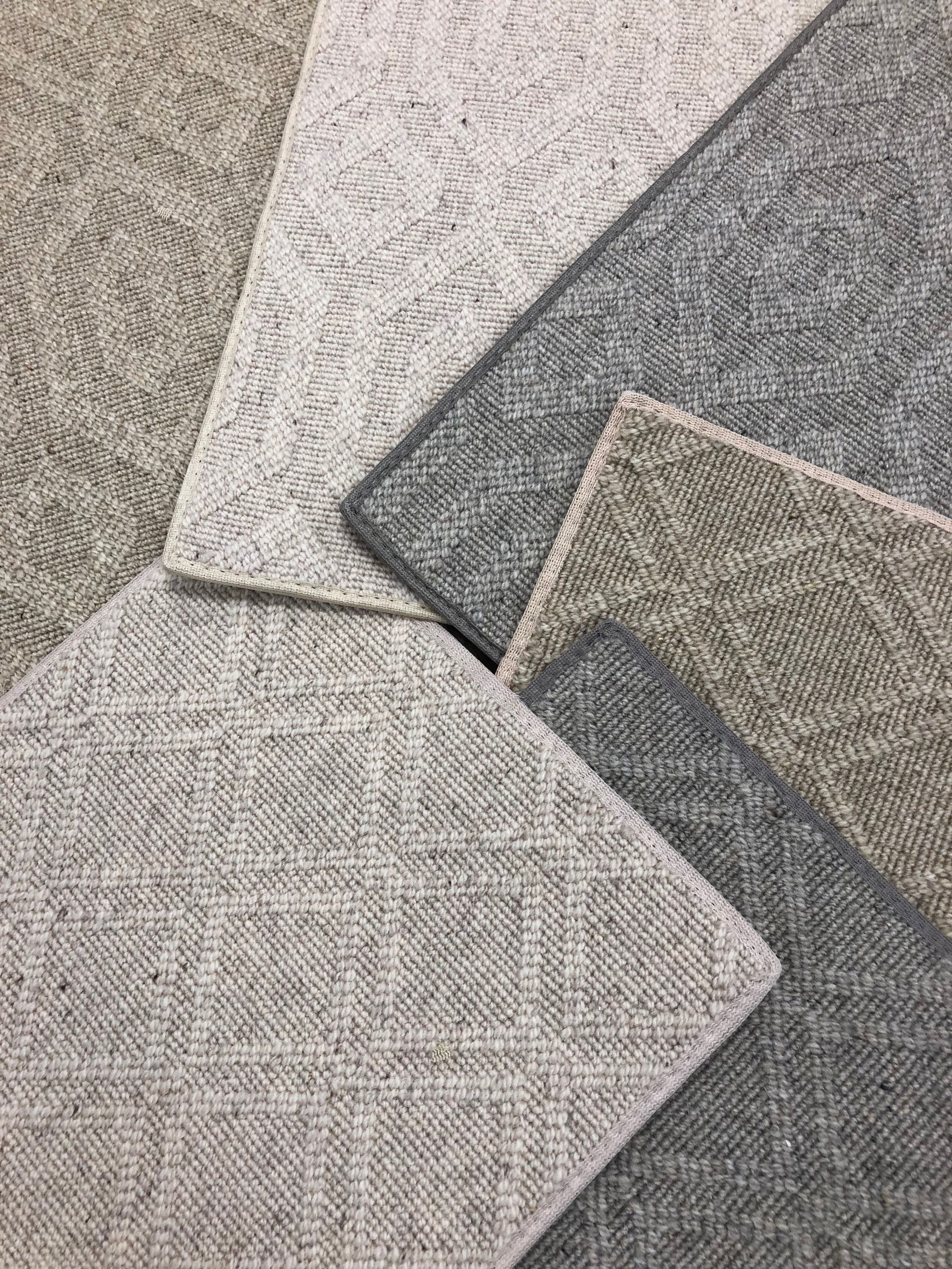 New Arrivals This Wool Patterned Carpet Can Be Installed
