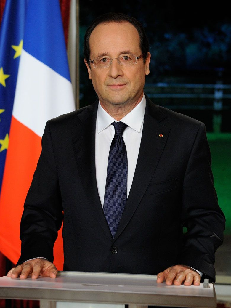 Francois Illas New Tradition: François Gérard Georges Nicolas Hollande Is The 24th And